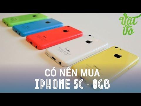 Vật Vờ - iPhone 5c 8GB liệu có nên mua? 8GB dùng được gì?