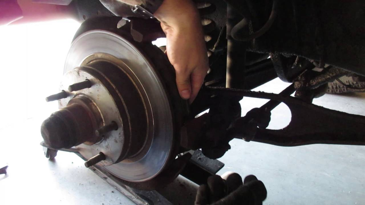 hight resolution of project ford truck front brake episode 5