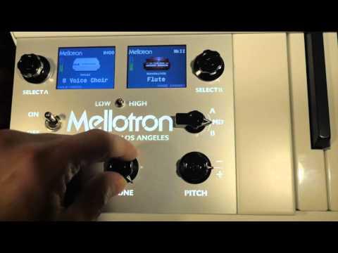 Mellotron 4000D Mini First Look