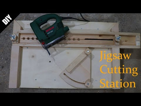 Jigsaw Cutting Station - Dekupaj Testere Kesim Tezgahı