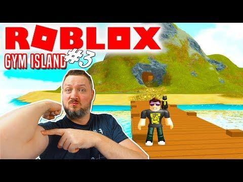FINDER EN HEMMELIG Ø! - Roblox Gym Island Dansk Ep 3