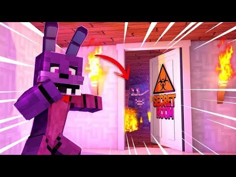 Minecraft FNAF: Nightmare Bonnie's Secret Room (Minecraft FNAF Roleplay)
