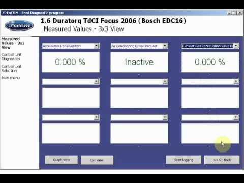 focom ford obd2 diagnosis live session youtube