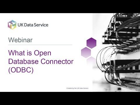 Webinar: What is Open Database Connector (ODBC)?