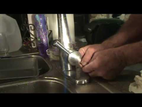 Single Handle Kitchen Faucet No Water