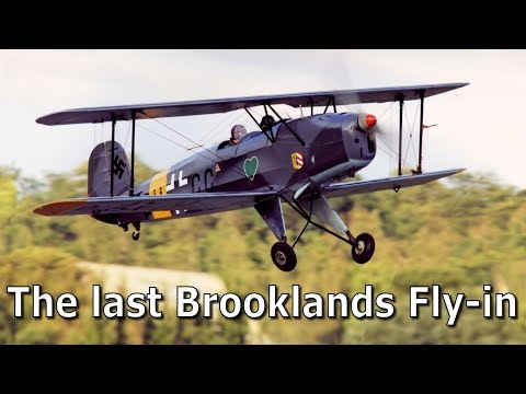 The Last Brooklands Fly-in 2003 Before The Runway Was Lost Forever - Some Memories Of Those 16 Years