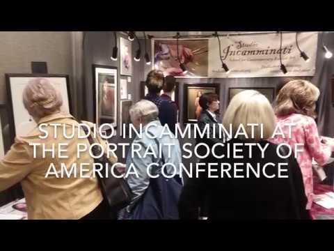 Studio Incamminati at the 2018 Portrait Society of America conference