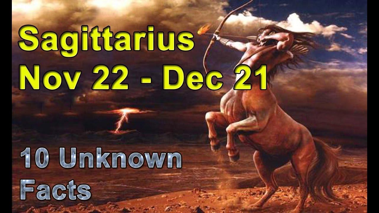 Sagittarius (Nov. 22 - Dec. 21) forecast
