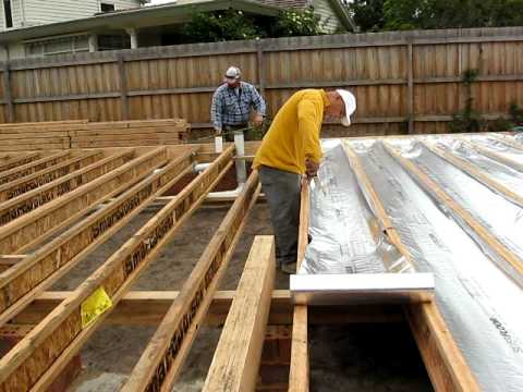 Silverfloor Underfloor Installation For Wooden Floors Or