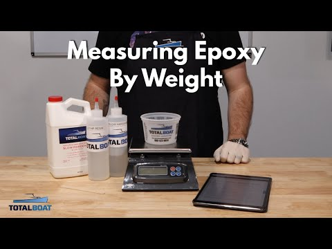 Measuring Epoxy by Weight