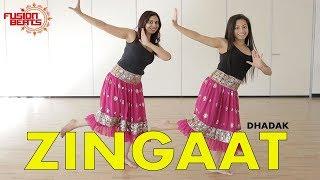 Dance to Zingaat Hindi   Dhadak   Bollywood Dance  Ishaan & Janhvi   Ajay-Atul   Fusion Beats Dance