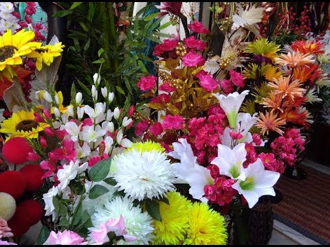 Home Decor Items/Artificial Flowers/Fences/fancy Vase Shop In Bangalore At Reasonable Rate