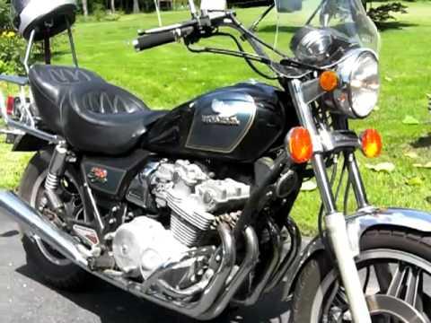 1981 Honda CB750 - YouTube