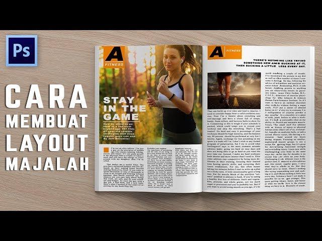 Cara Membuat Layout Majalah Di Photoshop