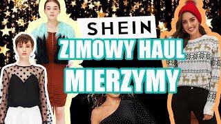 ZIMOWY HAUL MIERZYMY Z SHEIN + niespodzianka dla Was!