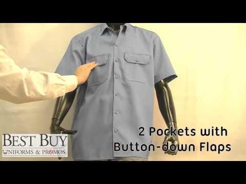Dickies Short Sleeve Work Shirt - Best Buy Uniforms