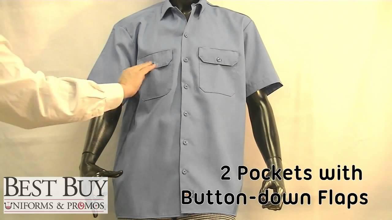 Dickies Short Sleeve Work Shirt Best Buy Uniforms Youtube