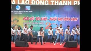 Dân vũ- CLB Áo Trắng THPT Hoàng Hoa Thám Đà Nẵng