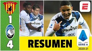 Benevento 1-4 Atalanta. ¡Colombia presente! Duván Zapata y Luis Muriel marcaron de nuevo | Serie A