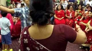 www.nepalmother.com presents Nepali Teej geet dance 2009 Manassas USA part - 8