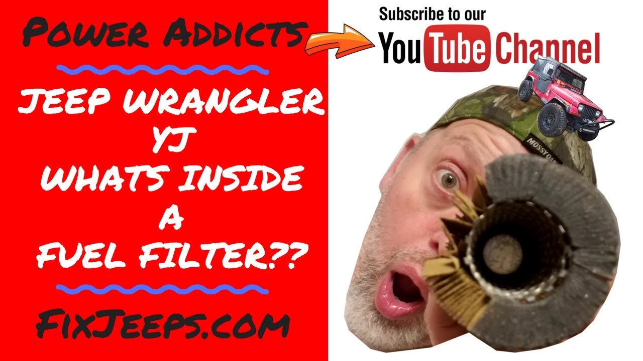 whats inside of a jeep wrangler fuel filter?