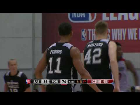 Bryn Forbes Scores 35 Points for 2nd Straight Game at NBA Summer League!