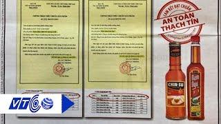 Phát hiện nước mắm đeo mác 'An toàn thạch tín' | VTC