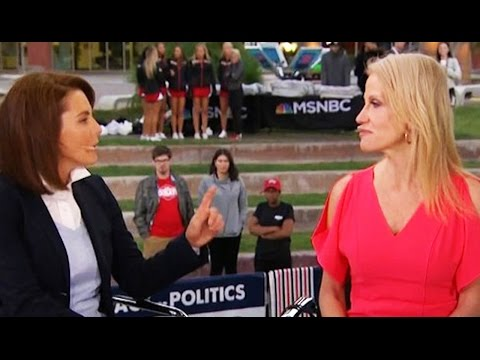 Stephanie Ruhle DESTROYS Kellyanne Conway: 'You've Gotta Look At Your Kids When You Go Home'