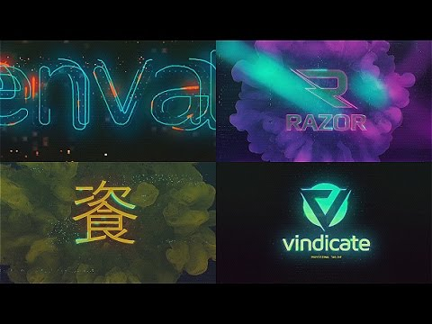 Cyberpunk Glitch Logo Reveal | After Effects template