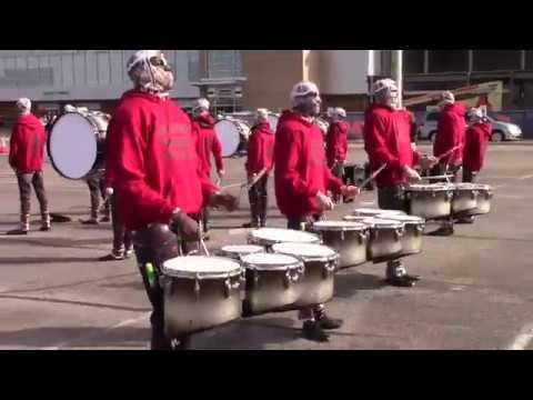 Old Bridge High School Indoor Drumline 2018 WGI World Championships - In the Lot