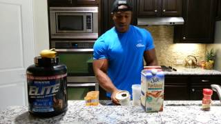 Cooking With Lawrence: Overnight Protein Oatmeal