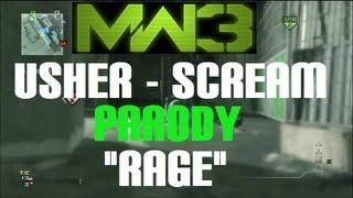 "Usher - Scream (Official Music Video) PARODY ""Rage"" (Modern Warfare 3)"
