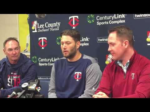 New Twins RHP Lance Lynn on not needing a pitching coach while throwing bullpens in private spring