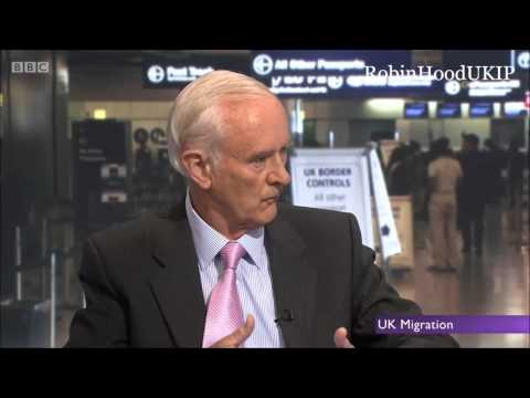 Lord Green of MigrationWatch calls out BBC bias toward immigration