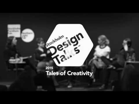 "Stockholm Design Talks - ""Tales of Creativity"" at Stockholm Furniture & Light Fair 2015"