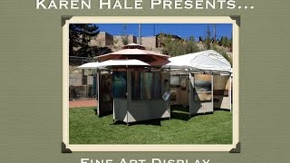 Karen Hale Fine Art - Display