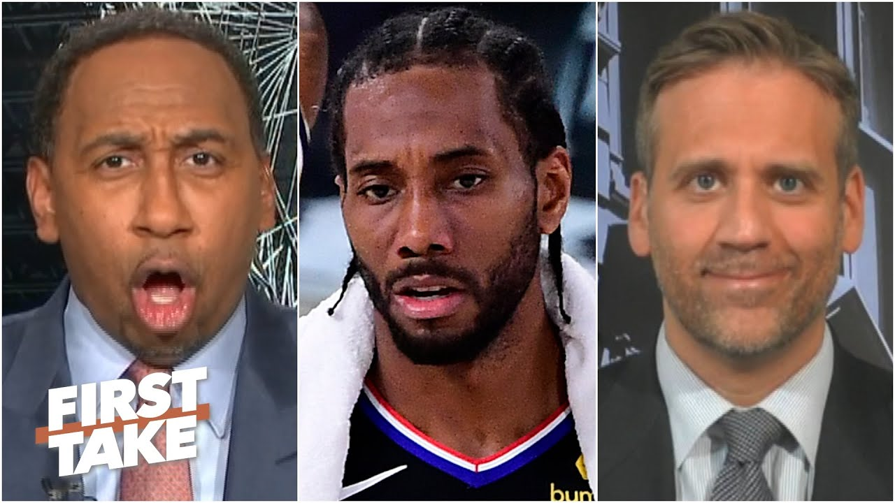 Download Stephen A. blasts Max for his 'embarrassing' response to Kawhi losing Game 7 | First Take
