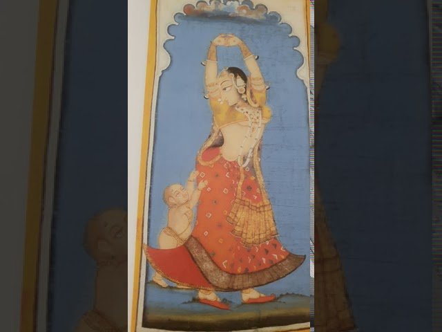 Paintings of Bhakta and Chakha - Deogarh Paintings