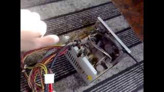 Заряжаем аккумулятор комповым БП