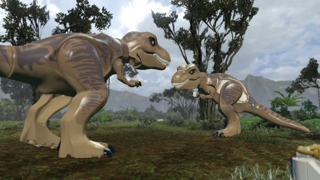 Lego Jurassic World Dinosaurio En La Ciudad Youtube