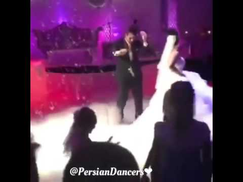 رقص زیبای عروس و داماد