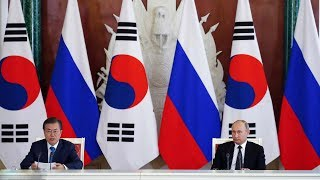 ROK, Russia sign agreements on energy, infrastructure, science and tech