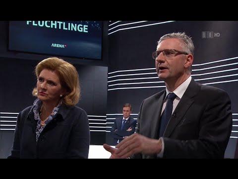 Der Notfallplan - müssen wir uns gegen die Flüchtlinge wehren? - Arena, 15.04