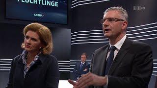 Der Notfallplan - müssen wir uns gegen die Flüchtlinge wehren? - Arena, 15.04.2016