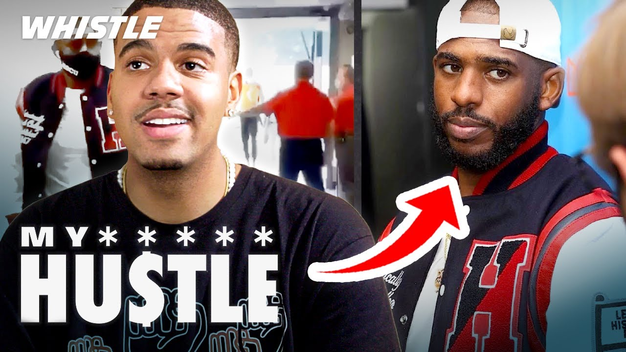 How A 21-Year-Old CEO Got CHRIS PAUL To Wear His HBCU Apparel! 👀
