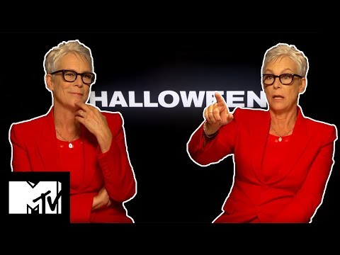 Jamie Lee Curtis Broke A Rib On Set With Michael Myers | Halloween | MTV Movies