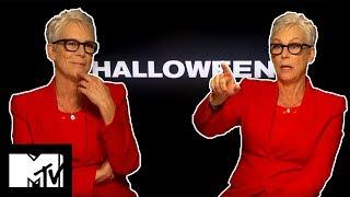 Jamie Lee Curtis Broke A Rib On Set With Michael Myers   Halloween   MTV Movies thumbnail