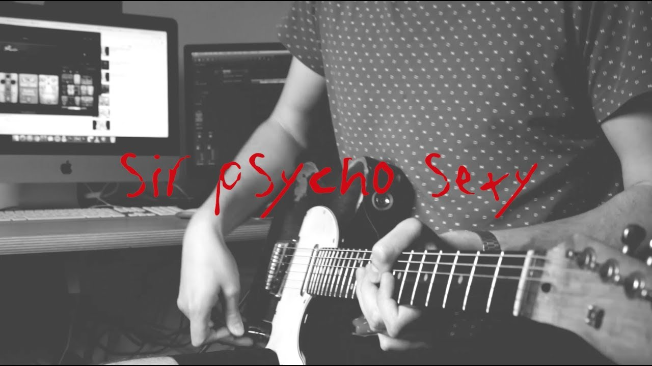 Red Hot Chili Peppers Sir Psycho Sexy Guitar Cover Youtube