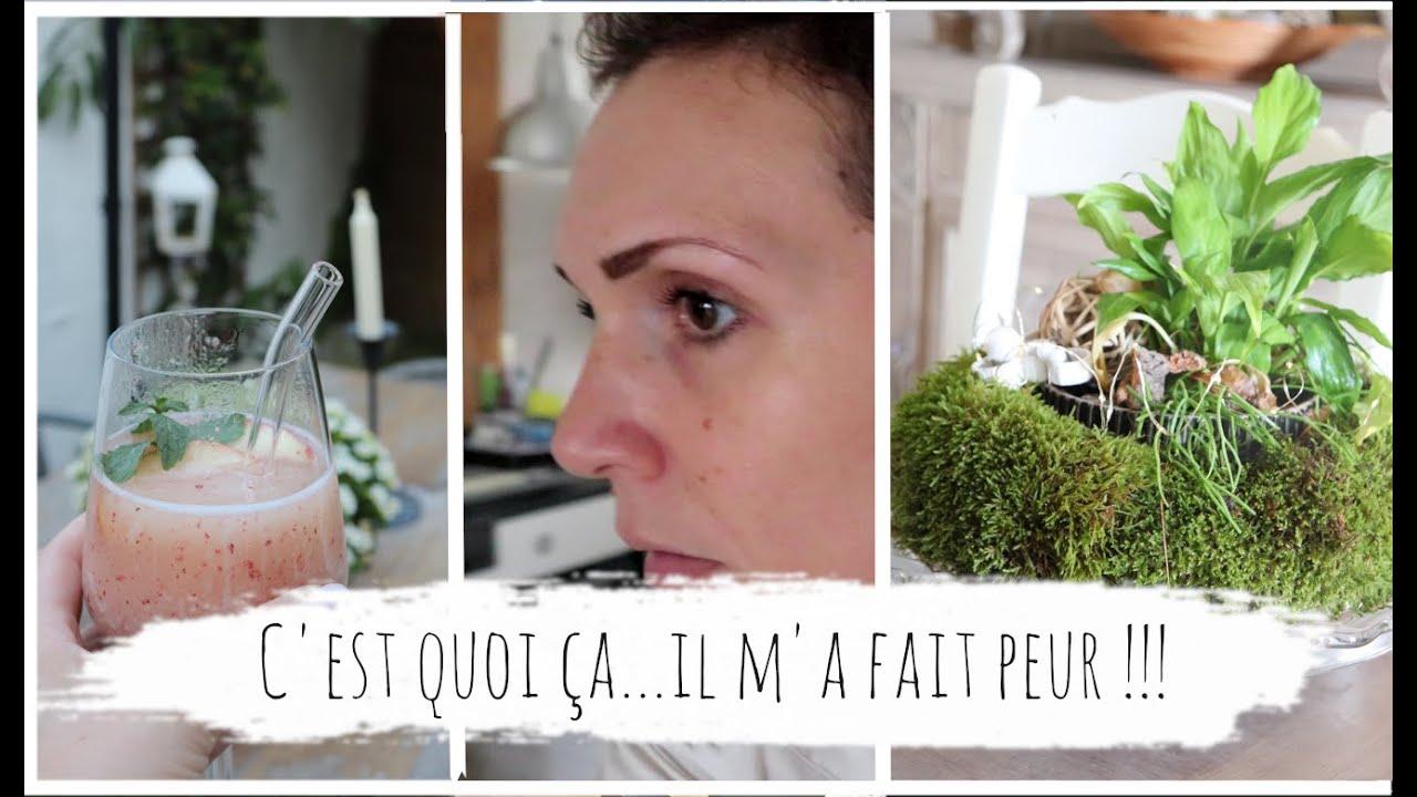 Vlog du 11 aout : salade haricots vert au parmesan et idée de cocktail glacée : un frosé pêche