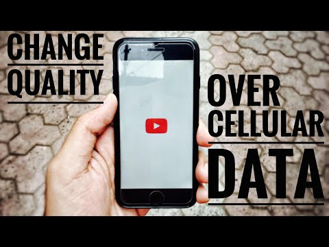 Change streaming quality over cellular/mobile data in YouTube iPhone!